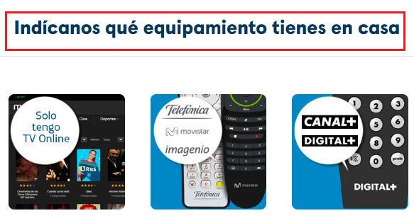 2 Selecciona dispositivo e introduce datos