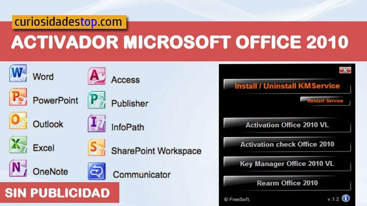 Activar Microsoft Office 2010